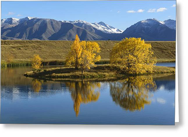 Willow Lake Greeting Cards - Loch Cameron Greeting Card by Robert Green