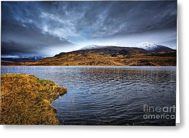 Loch Cill Chrisiod Greeting Card by Stephen Smith