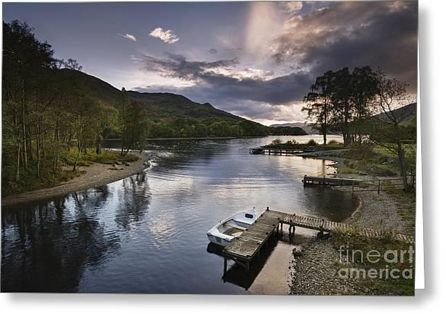 Loch Earn 1 Greeting Card by Rod McLean