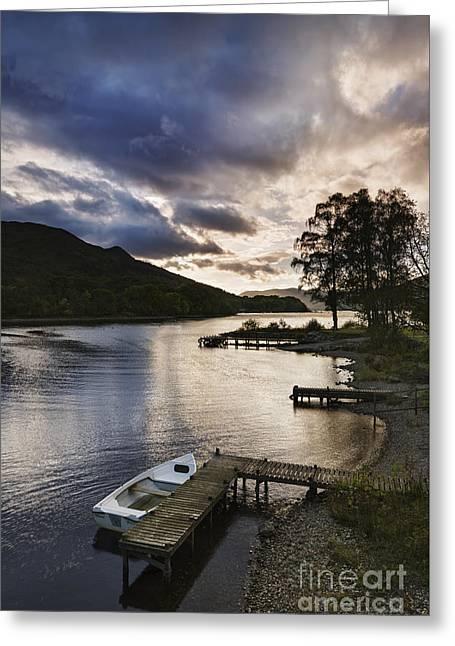 Loch Earn 2 Greeting Card by Rod McLean