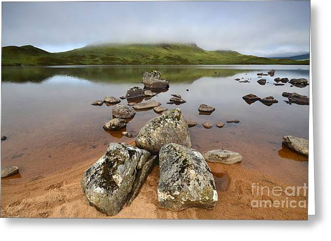 Loch Nah Achlaise Greeting Card by Stephen Smith
