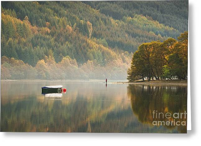 Scotland Landscapes Greeting Cards - Loch Voil - Scotland Greeting Card by Rod McLean
