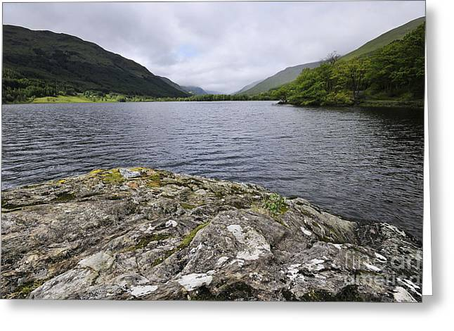 Loch Voil Greeting Card by Stephen Smith