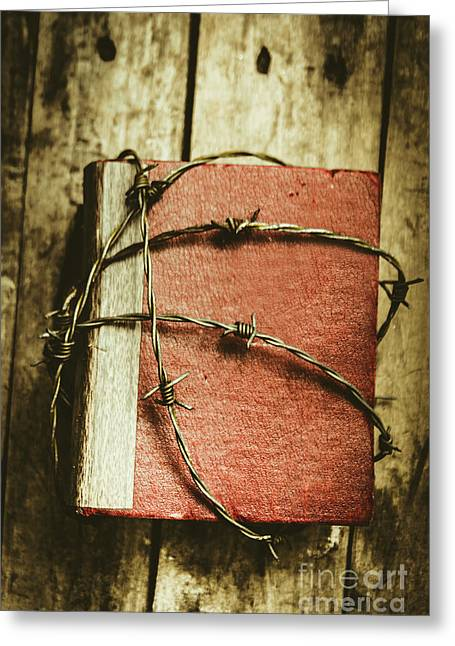Locked Diary Of Secrets Greeting Card by Jorgo Photography - Wall Art Gallery