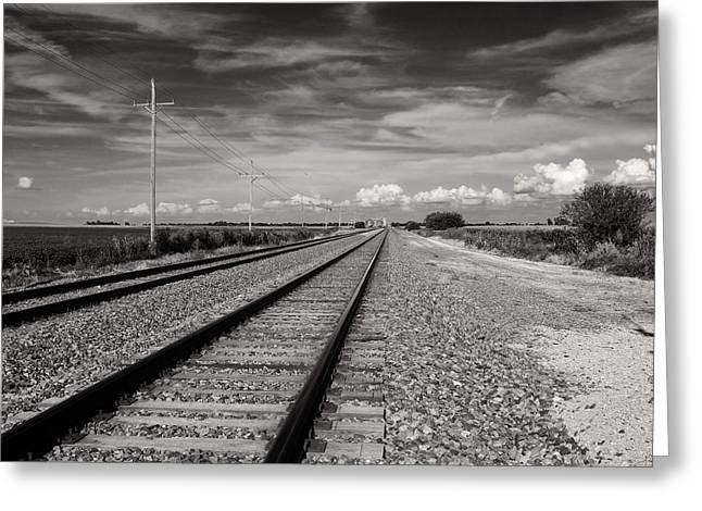 Locomotion Greeting Card by Tom Druin