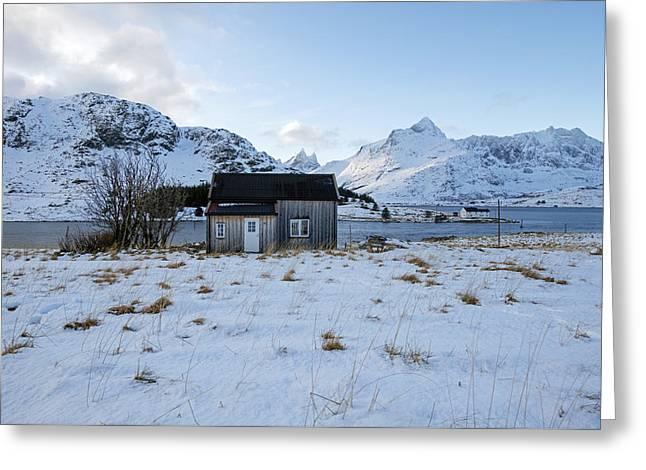 Lofoten Nordland 5 Greeting Card by Dubi Roman