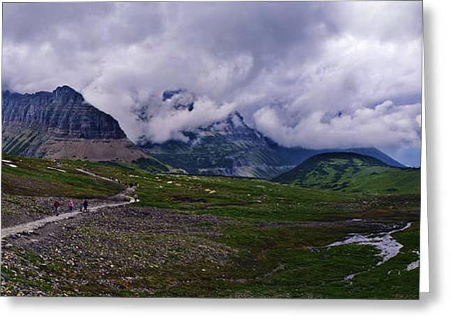 Patch Greeting Cards - Logans Pass Greeting Card by Christopher Lugenbeal