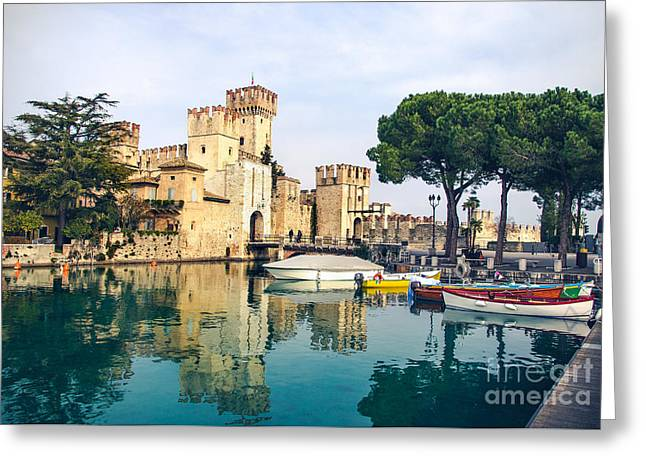 Sirmione Canvas Print -  Lombardy Region - Greeting Card by Luca Lorenzelli