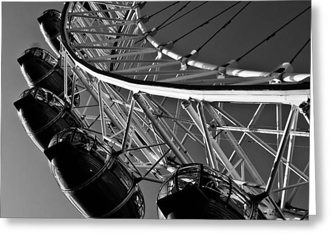 London Eye Greeting Card by David Pyatt