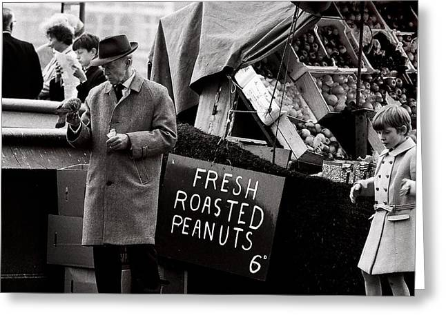 Thames Greeting Cards - London s Peanuts  (film) Greeting Card by Didier Guibert