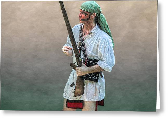 Citizens Greeting Cards - Lone Scout Greeting Card by Randy Steele