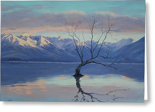 Lone Tree Greeting Card by Graham Gercken
