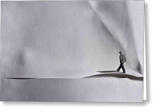 Loneliness Greeting Cards - Loneliness. Greeting Card by Alfredo Yanez