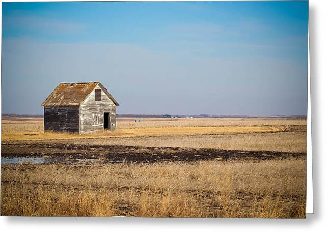 Old House Photographs Photographs Greeting Cards - Lonely Ol House Greeting Card by Christy Patino