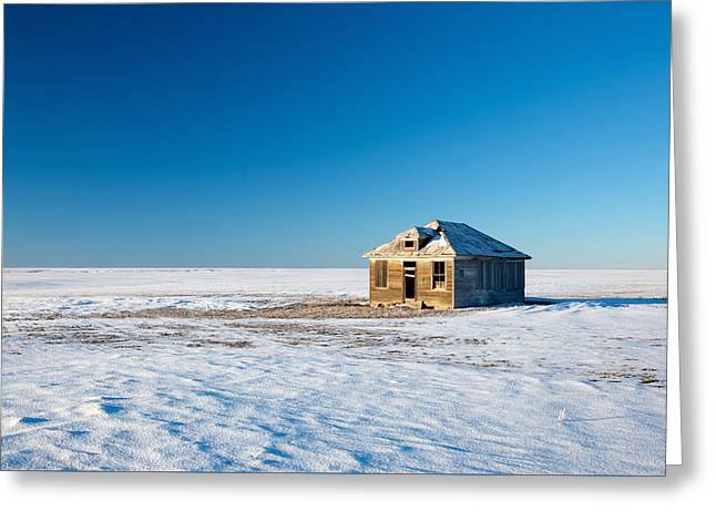 Lonely Place Greeting Card by Todd Klassy