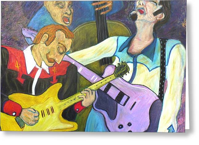 Lonesome Blues Greeting Card by Todd  Peterson