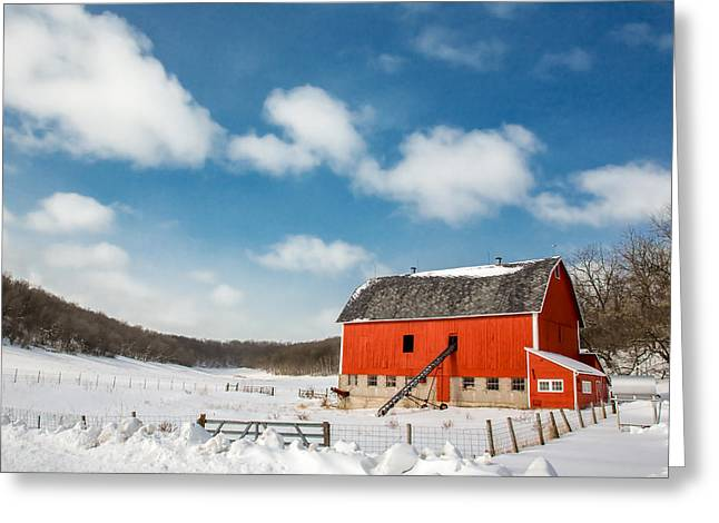 Lonesome Valley Greeting Card by Todd Klassy