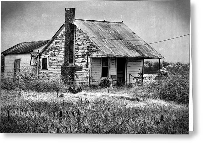 Shack Greeting Cards - Long Gone Greeting Card by Judy Vincent