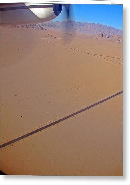 Al-khazneh Greeting Cards - Long long road. Peter. Jordan. Greeting Card by Andy Za