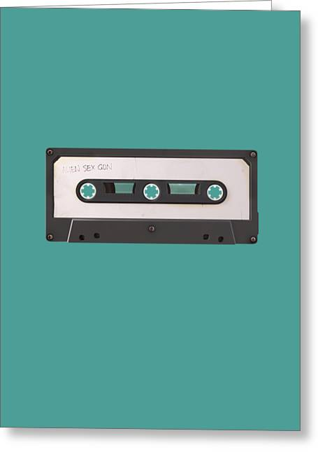 80s Pop Music Greeting Cards - Long Play Greeting Card by Nicholas Ely