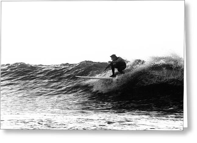 Surf Board Greeting Cards - Longboard Greeting Card by Rick Berk