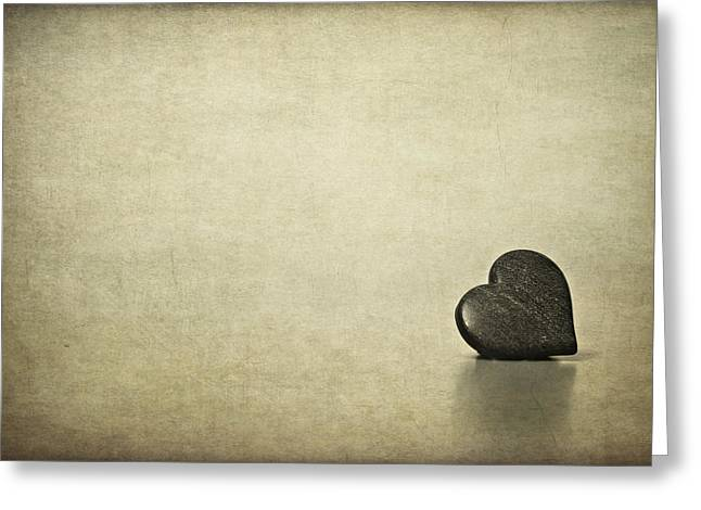 Heart Greeting Cards - Longing Greeting Card by Evelina Kremsdorf