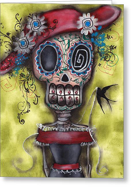 Looking For Love Greeting Card by  Abril Andrade Griffith
