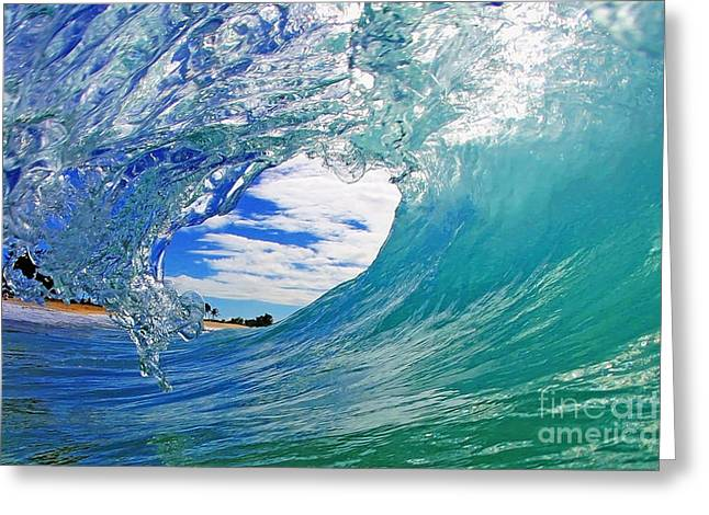 Surf Greeting Cards - Looking Forward Greeting Card by Paul Topp