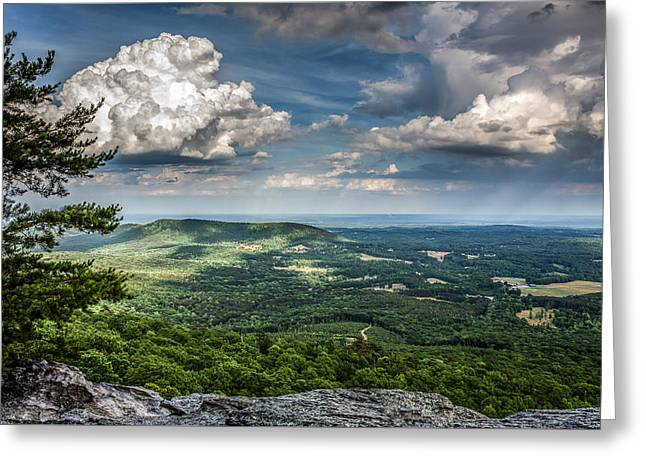 Recently Sold -  - Mountain Valley Greeting Cards - Looking out Greeting Card by Dwayne Reaves