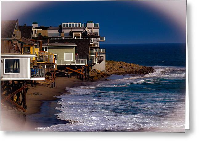 California Beaches Greeting Cards - Looking Out My Back Door Greeting Card by Michael Damiani