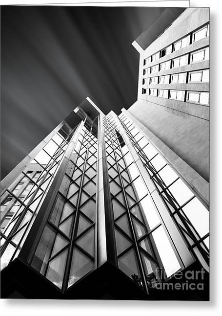 High Up Greeting Cards - Looking Up Greeting Card by Stefano Senise