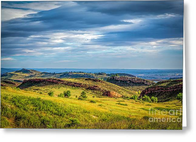 Lory State Park Greeting Card by Jon Burch Photography