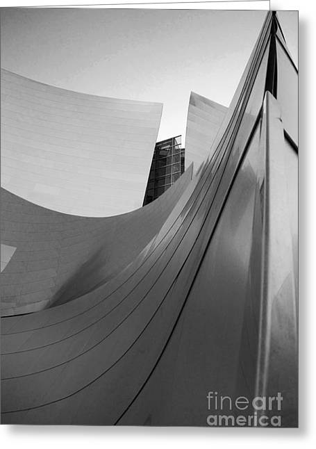 Metal Sheet Greeting Cards - Los Angeles Disney Concert Hall 31 Greeting Card by Micah May
