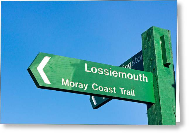 Lossiemouth Greeting Card by Tom Gowanlock
