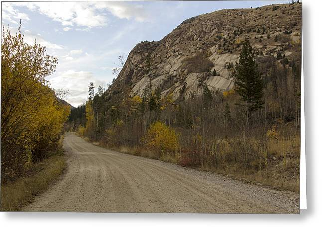 Lost Creek Road Greeting Card by Dana Moyer