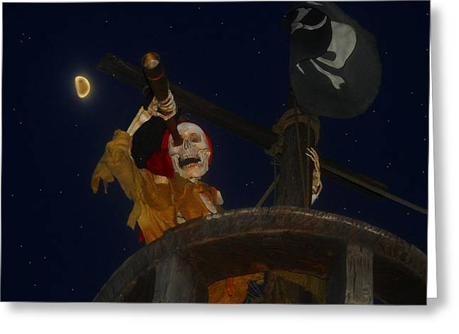 Pirates Greeting Cards - Lost Dutchman Greeting Card by David Lee Thompson