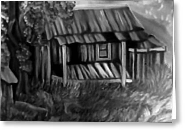 Lost Home Greeting Card by Mildred Chatman