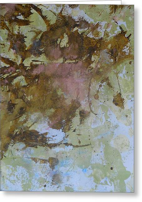 Powder Greeting Cards - Lost In Confusion Greeting Card by Karen Butscha