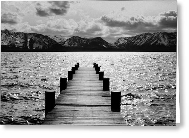 Brad Scott Greeting Cards - Lost in Lake Tahoe Greeting Card by Brad Scott