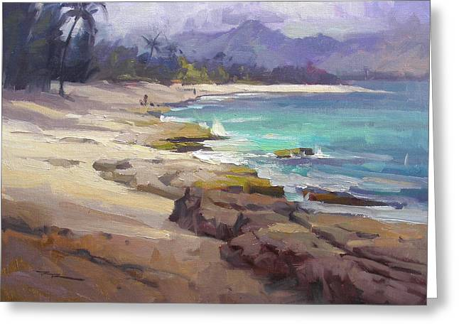 Haleiwa Greeting Cards - Lost in Paradise Greeting Card by Richard Robinson