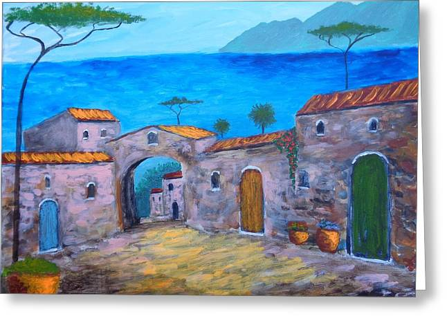 Lost In Time Greeting Card by Larry Cirigliano