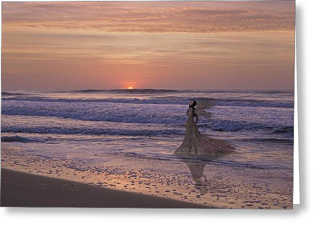 Lost Love Greeting Card by Betsy Knapp