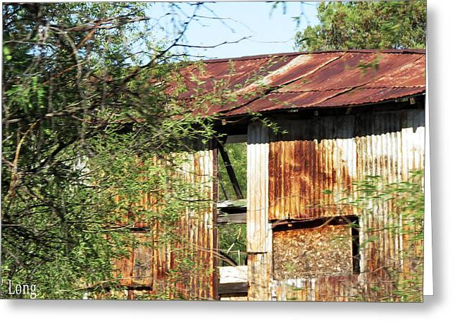 Shed Digital Greeting Cards - Lost Greeting Card by Mary De Long