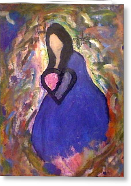 Graffiti Pastels Greeting Cards - Lost Princess  Greeting Card by Thomas Bonnette