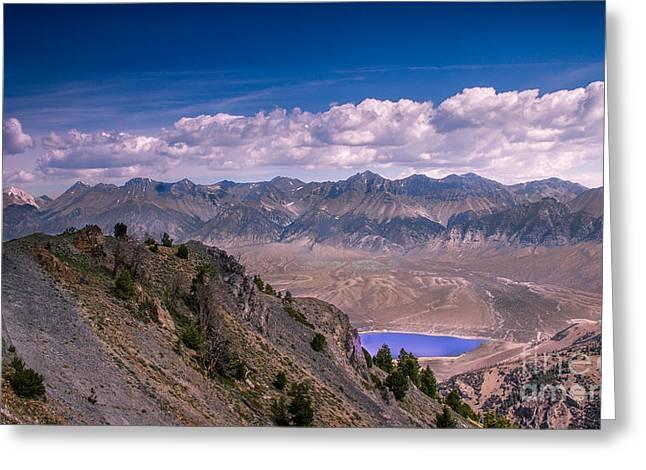 Usa Hikes Greeting Cards - Lost River Range Greeting Card by Robert Bales