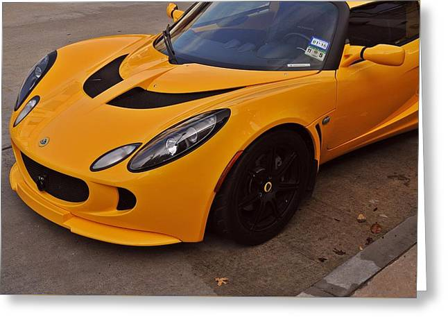 Race Horse Greeting Cards - Lotus Elise Greeting Card by D M