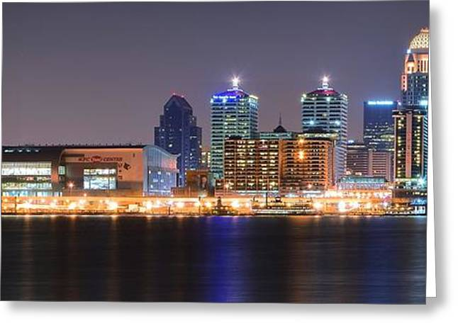 Louisville Stretch Greeting Card by Frozen in Time Fine Art Photography