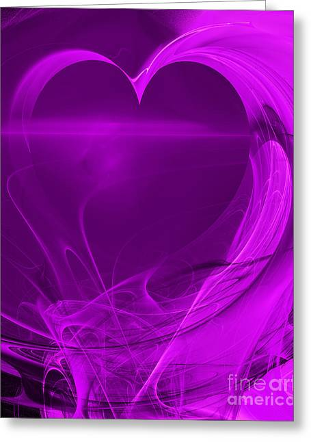 Home Decor Greeting Cards - Love . A120423.279 Greeting Card by Home Decor