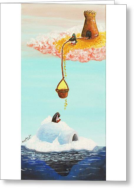 Love Always Finds A Way Greeting Card by MaryAnn Loo