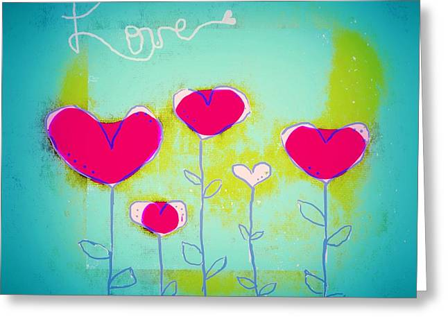 Love Art - 144a Greeting Card by Variance Collections